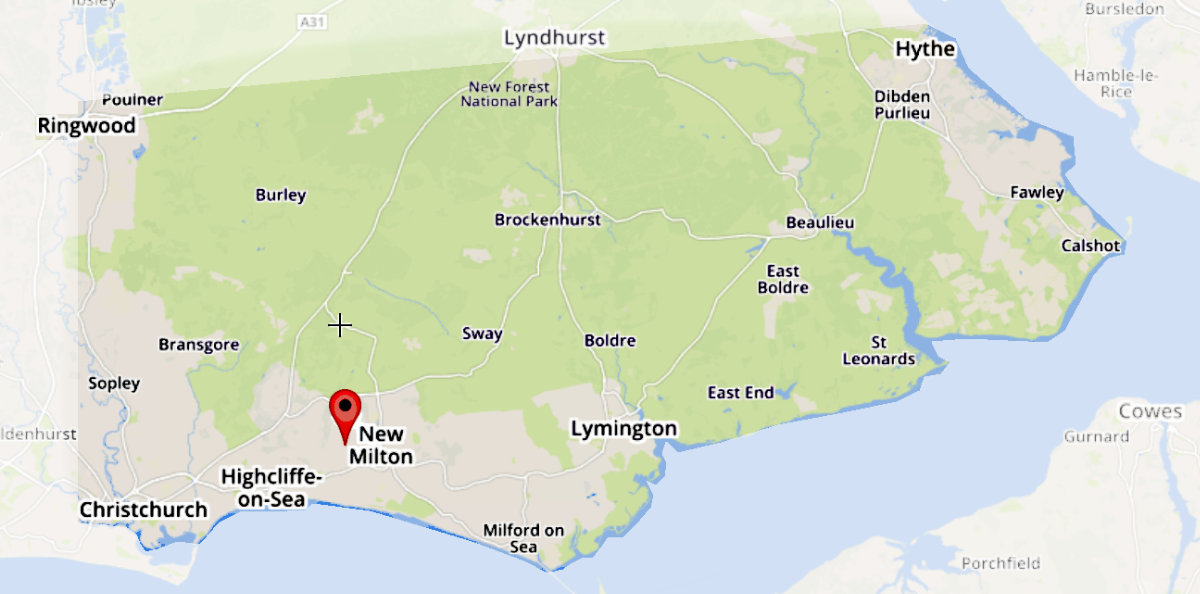 Covering an area within the boundary of Christchurch, Ringwood, Hythe and Lymington